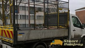 Rubbish Cage Van